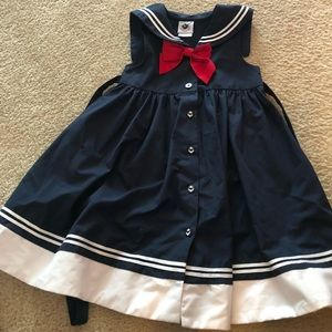 Other - Little girl sailor dress